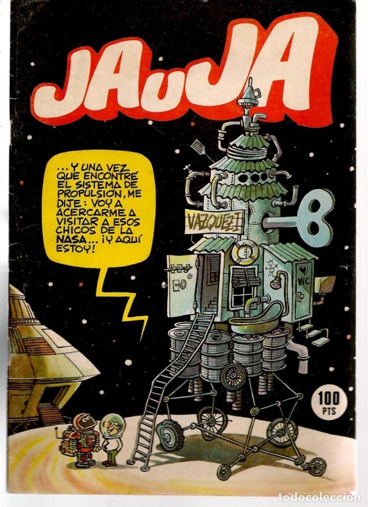 JAUJA. 12 NROS. ¡¡COLECCIÓN COMPLETA!!. EDICIONES DRUIDA. (RF.MA)C/3 (Tebeos y Comics - Tebeos Colecciones y Lotes Avanzados)