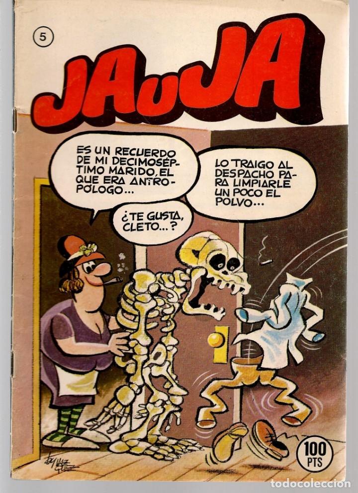 Tebeos: JAUJA. 12 NROS. ¡¡COLECCIÓN COMPLETA!!. EDICIONES DRUIDA. (RF.MA)C/3 - Foto 5 - 180177063