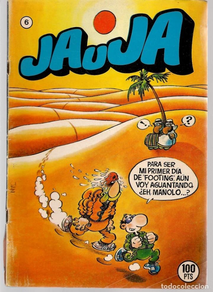 Tebeos: JAUJA. 12 NROS. ¡¡COLECCIÓN COMPLETA!!. EDICIONES DRUIDA. (RF.MA)C/3 - Foto 6 - 180177063