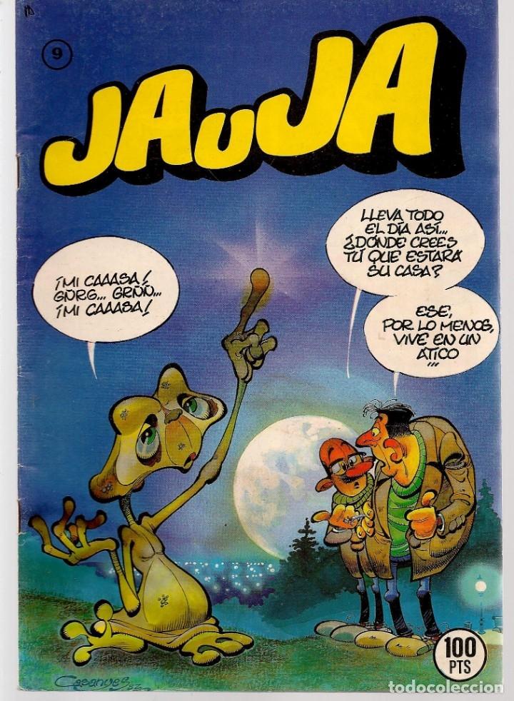 Tebeos: JAUJA. 12 NROS. ¡¡COLECCIÓN COMPLETA!!. EDICIONES DRUIDA. (RF.MA)C/3 - Foto 9 - 180177063