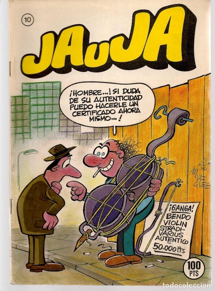 Tebeos: JAUJA. 12 NROS. ¡¡COLECCIÓN COMPLETA!!. EDICIONES DRUIDA. (RF.MA)C/3 - Foto 10 - 180177063