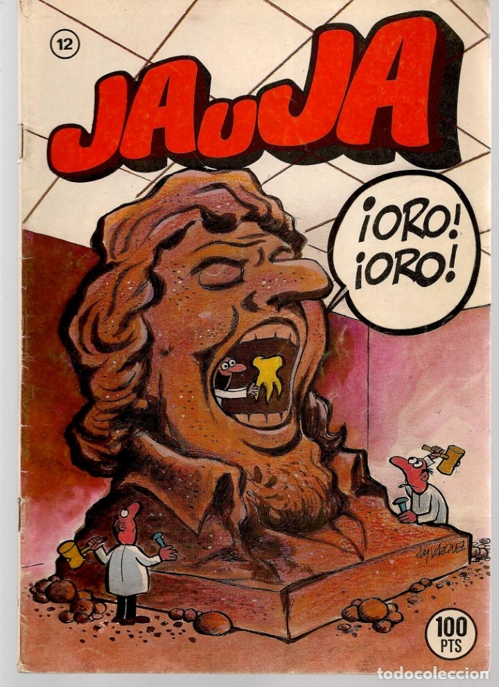 Tebeos: JAUJA. 12 NROS. ¡¡COLECCIÓN COMPLETA!!. EDICIONES DRUIDA. (RF.MA)C/3 - Foto 12 - 180177063