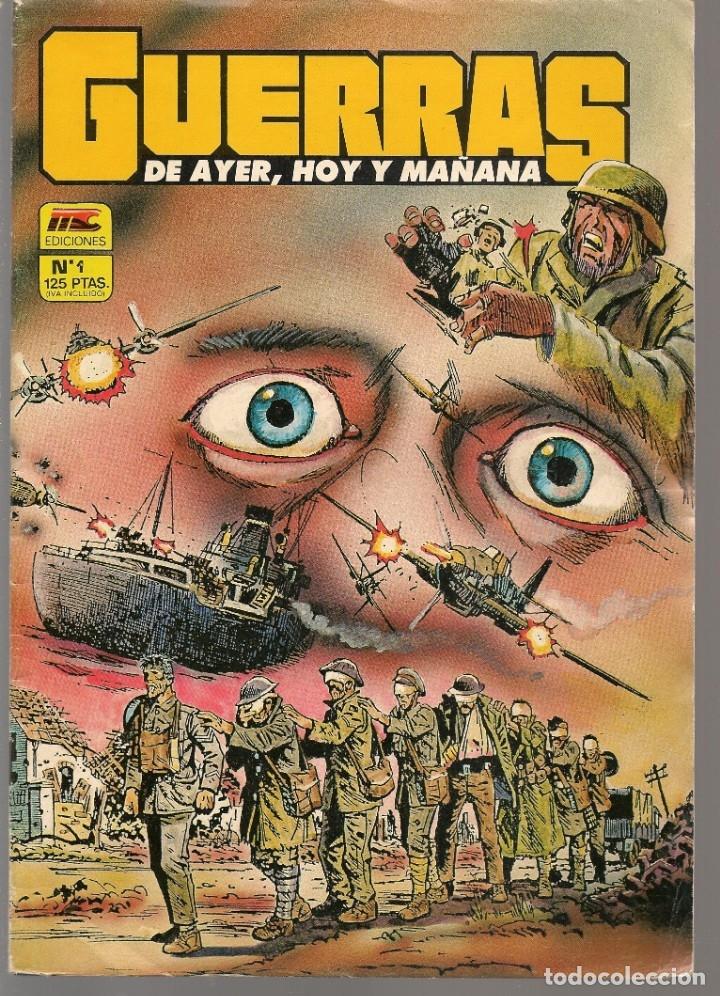 GUERRAS DE AYER, HOY Y MAÑANA. 2 NROS. ¡¡COLECCIÓN COMPLETA!!. EDICIONES MC. (RF.MA) CCF8 (Tebeos y Comics - Tebeos Colecciones y Lotes Avanzados)