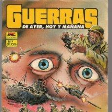 Tebeos: GUERRAS DE AYER, HOY Y MAÑANA. 2 NROS. ¡¡COLECCIÓN COMPLETA!!. EDICIONES MC. (RF.MA) CCF8. Lote 180182896