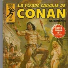 Tebeos: LA ESPADA SALVAJE DE CONAN EL BÁRBARO. 16 TOMOS. ¡¡COMPLETA!!. SERIE ORO. PLANETA, 1982. (RF.MA)B/13. Lote 180186575