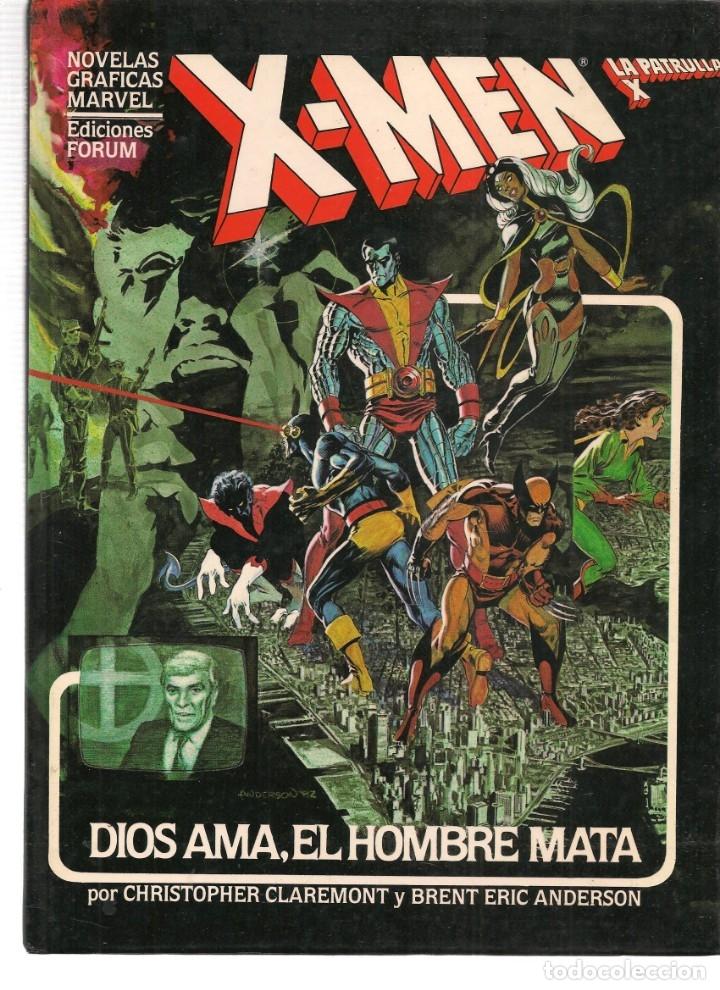 NOVELAS GRÁFICAS MARVEL. 8 NÚMEROS. ¡¡COLECCIÓN COMPLETA!!. FORUM. (RF.MA)B/21 (Tebeos y Comics - Tebeos Colecciones y Lotes Avanzados)