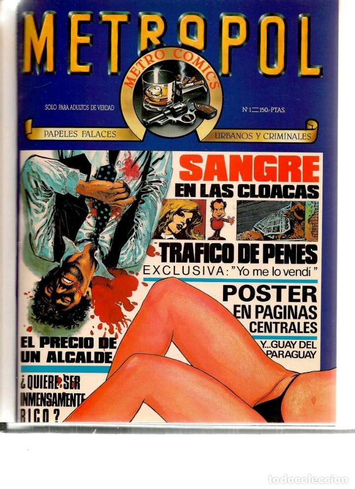 METROPOL. 12 NÚMEROS. ¡¡COLECCIÓN COMPLETA!!. ENCUADERNADOS EN 2 TOMOS. (RF.MA)B/21 (Tebeos y Comics - Tebeos Colecciones y Lotes Avanzados)