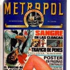 Tebeos: METROPOL. 12 NÚMEROS. ¡¡COLECCIÓN COMPLETA!!. ENCUADERNADOS EN 2 TOMOS. (RF.MA)B/21. Lote 180267907