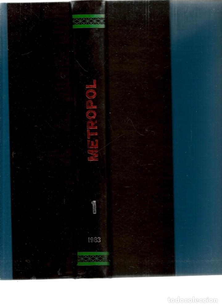 Tebeos: METROPOL. 12 NÚMEROS. ¡¡COLECCIÓN COMPLETA!!. ENCUADERNADOS EN 2 TOMOS. (RF.MA)B/21 - Foto 3 - 180267907