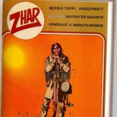 Tebeos: ZHAR. 4 NROS. ¡¡COLECCIÓN COMPLETA!!. EDITORIAL VALENCIANA, 1983. (RF.MA) B/21. Lote 180273467