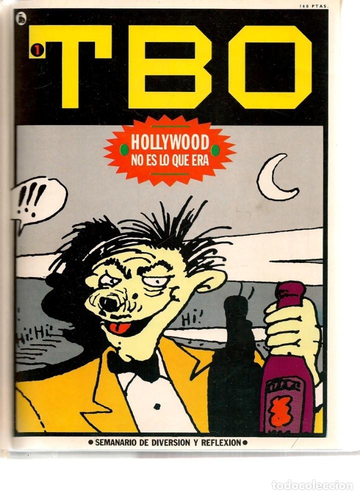 TBO. BRUGUERA. 7 NROS. ¡¡COLECCIÓN COMPLETA!!. ENCUADERNDOS EN UN TOMO. (RF.MA) B/21 (Tebeos y Comics - Tebeos Colecciones y Lotes Avanzados)