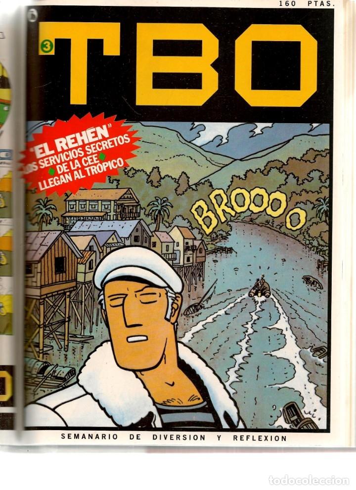 Tebeos: TBO. BRUGUERA. 7 NROS. ¡¡COLECCIÓN COMPLETA!!. ENCUADERNDOS EN UN TOMO. (RF.MA) B/21 - Foto 3 - 180274070