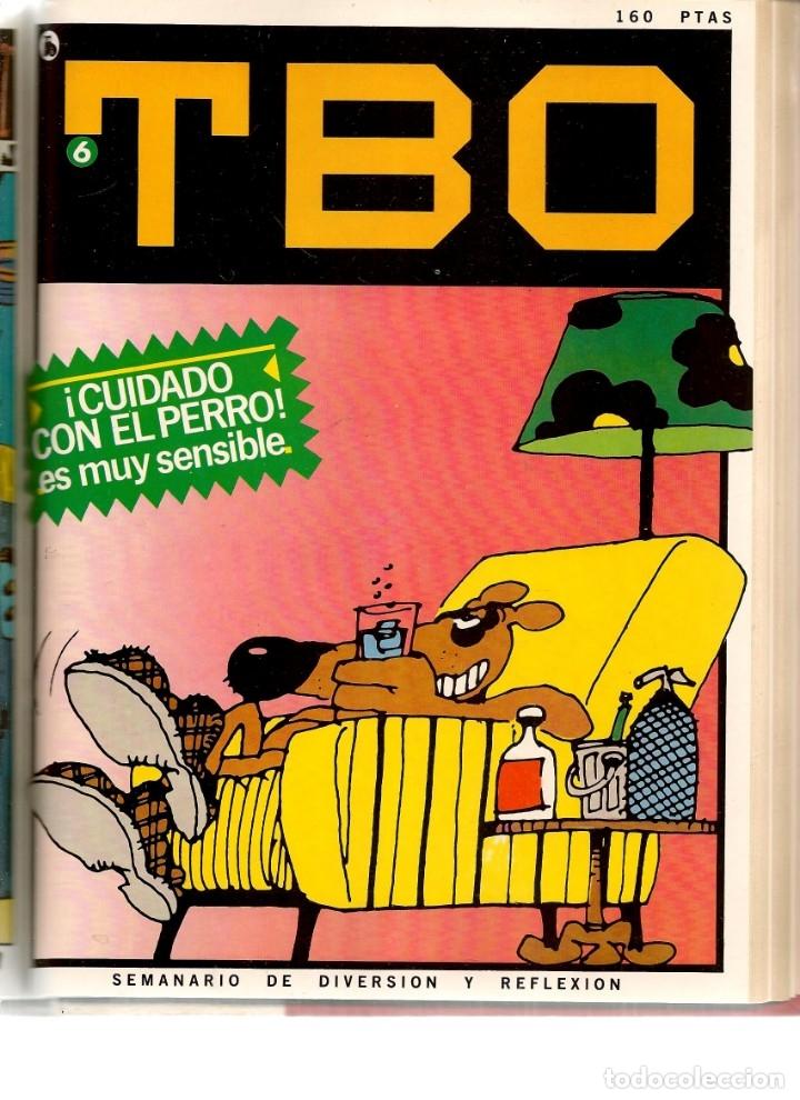 Tebeos: TBO. BRUGUERA. 7 NROS. ¡¡COLECCIÓN COMPLETA!!. ENCUADERNDOS EN UN TOMO. (RF.MA) B/21 - Foto 6 - 180274070