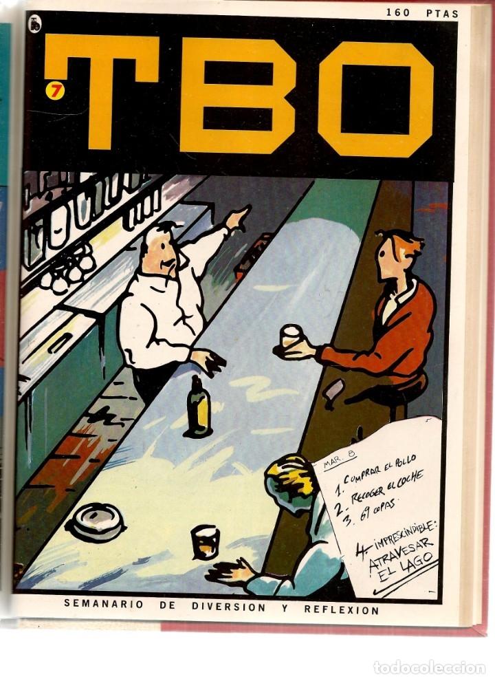 Tebeos: TBO. BRUGUERA. 7 NROS. ¡¡COLECCIÓN COMPLETA!!. ENCUADERNDOS EN UN TOMO. (RF.MA) B/21 - Foto 7 - 180274070