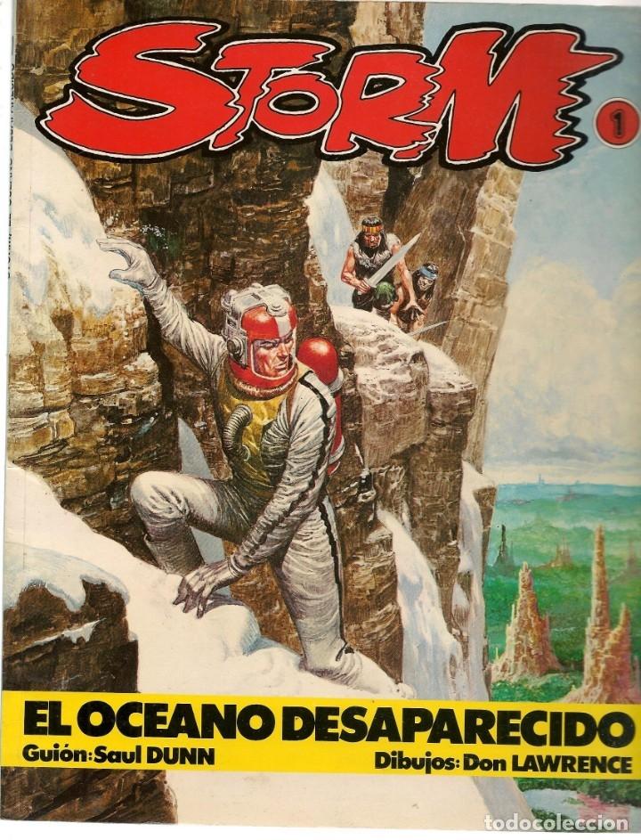 STORM. 2 NROS. ¡¡COLECCIÓN COMPLETA!!. SARPE. (RF.MA) C/1 (Tebeos y Comics - Tebeos Colecciones y Lotes Avanzados)