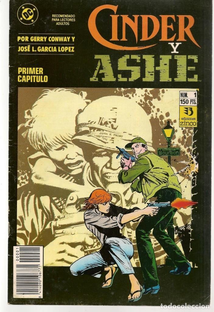 CINDER Y ASHE. 4 NROS. ¡¡COLECCIÓN COMPLETA!!. DC / ZINCO. (RF.MA) C/1 (Tebeos y Comics - Tebeos Colecciones y Lotes Avanzados)