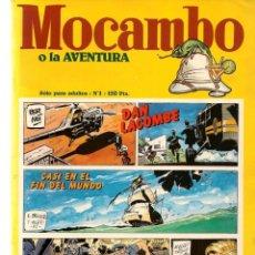 Tebeos: MOCAMBO O LA AVENTURA. 2 NROS. ¡¡COLECCIÓN COMPLETA!!. EDC. METROPOL. (RF.MA) C/1. Lote 180412191