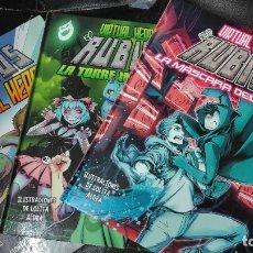 Livros de Banda Desenhada: EL RUBIUS 3 TOMOS VIRTUAL HERO. Lote 180935026