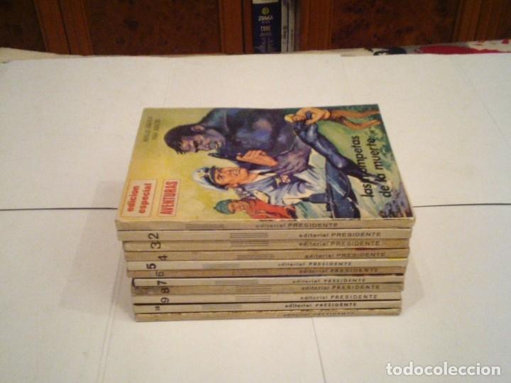 EDICION ESPECIAL AVENTURAS - NOVELAS GRAFICAS - ED PRESIDENTE- COLECCION COMPLETA - CJ 113 -GORBAUD (Tebeos y Comics - Tebeos Colecciones y Lotes Avanzados)