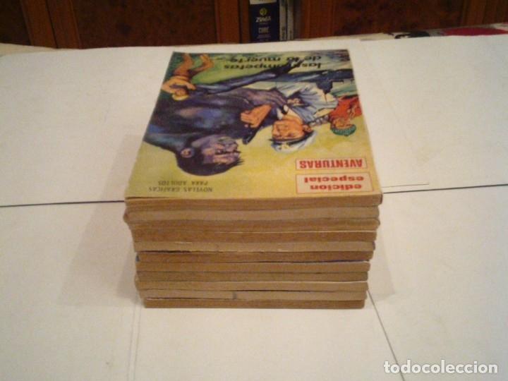 Tebeos: EDICION ESPECIAL AVENTURAS - NOVELAS GRAFICAS - ED PRESIDENTE- COLECCION COMPLETA - CJ 113 -GORBAUD - Foto 4 - 181212540