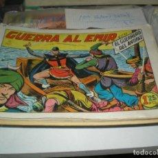 Tebeos: LOTE DEL GUERRERO DEL ANTIFAZ CON 100 EJEMPLARES DISTINTOS. Lote 181690660