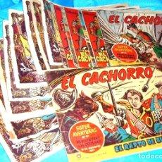 Tebeos: EL CACHORRO LOTE DE 14 ORIGINALES, BUEN ESTADO - VER. Lote 182011685