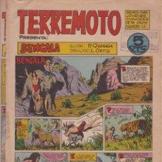 Livros de Banda Desenhada: TERREMOTO- BENGALA - NºS 1, 2 Y 3. Lote 182560533