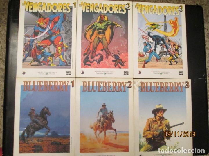 GRANDES HEROES DEL COMIC COLECCION COMPLETA 46 TOMOS (Tebeos y Comics - Tebeos Colecciones y Lotes Avanzados)