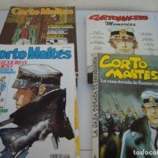 Tebeos: REVISTA CORTO MALTÉS MAS EXTRAS. Lote 182708712