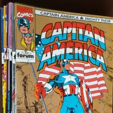 Tebeos: CAPITÁN AMÉRICA & MIGHTY THOR, FORUM(1993)-COLECCIÓN COMPLETA (DIFÍCIL ENTERA)-VER FOTOS/DESCRIPCIÓN. Lote 182821265