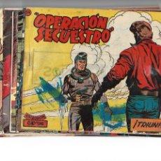 Tebeos: OPERACIÓN SERCUESTRO AÑO 1959 COLECCIÓN COMPLETA SON 14 TEBEOS ORIGINALES Y MUY DIFICILES. Lote 183265703