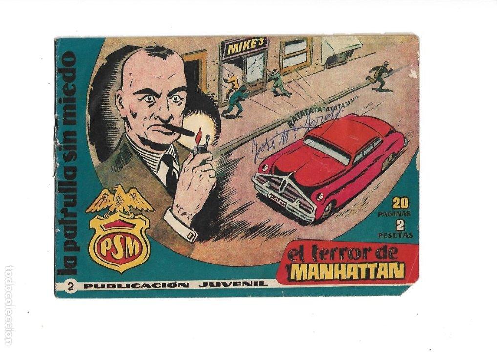 Tebeos: La Patrulla Sin Miedo Año 1961 Colección Completa son 24. Tebeos Originales es dificilisimos - Foto 3 - 183234217