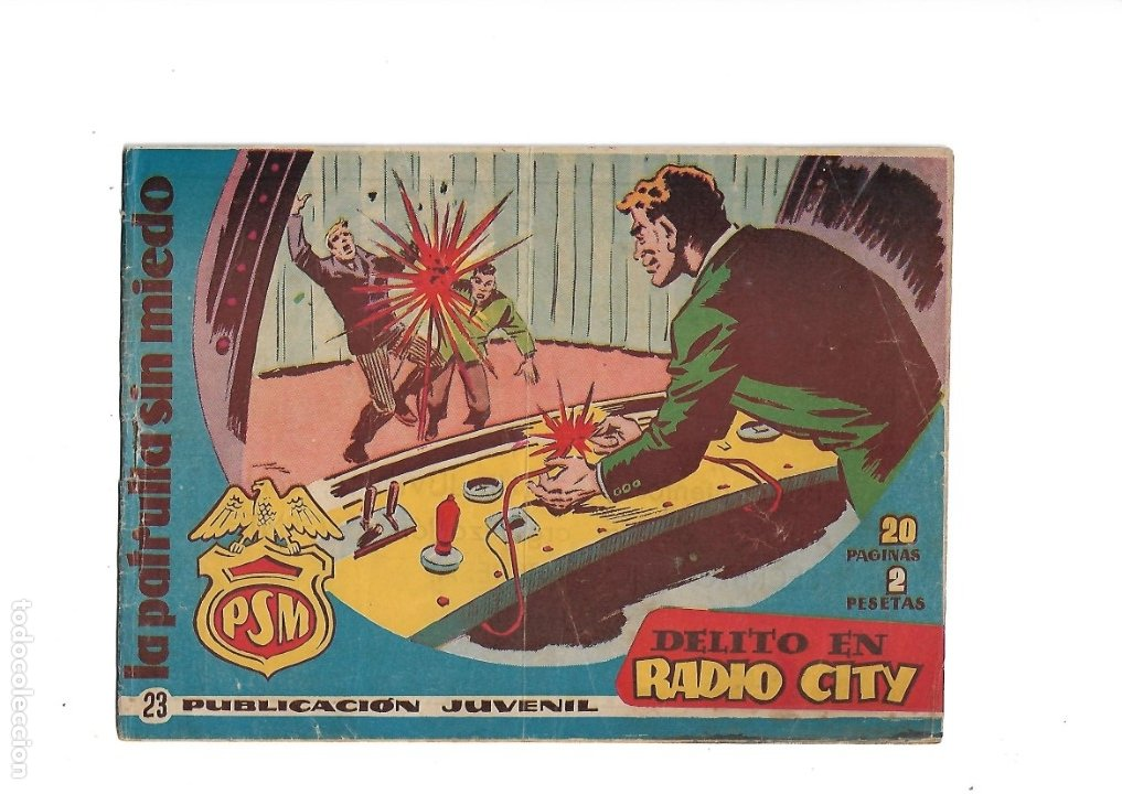 Tebeos: La Patrulla Sin Miedo Año 1961 Colección Completa son 24. Tebeos Originales es dificilisimos - Foto 4 - 183234217