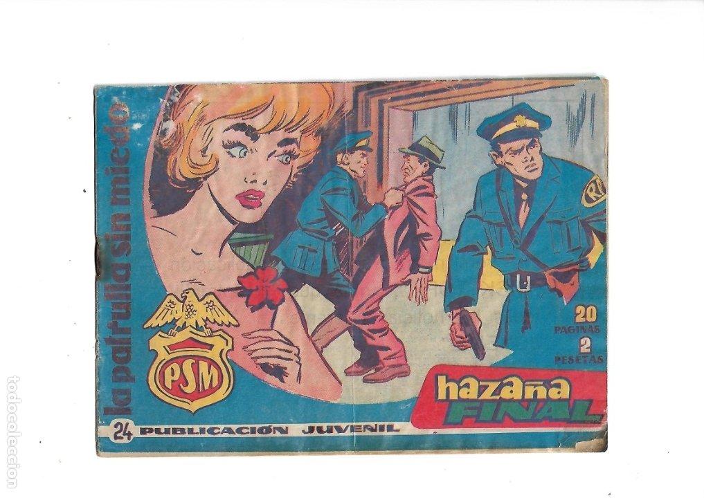 Tebeos: La Patrulla Sin Miedo Año 1961 Colección Completa son 24. Tebeos Originales es dificilisimos - Foto 5 - 183234217