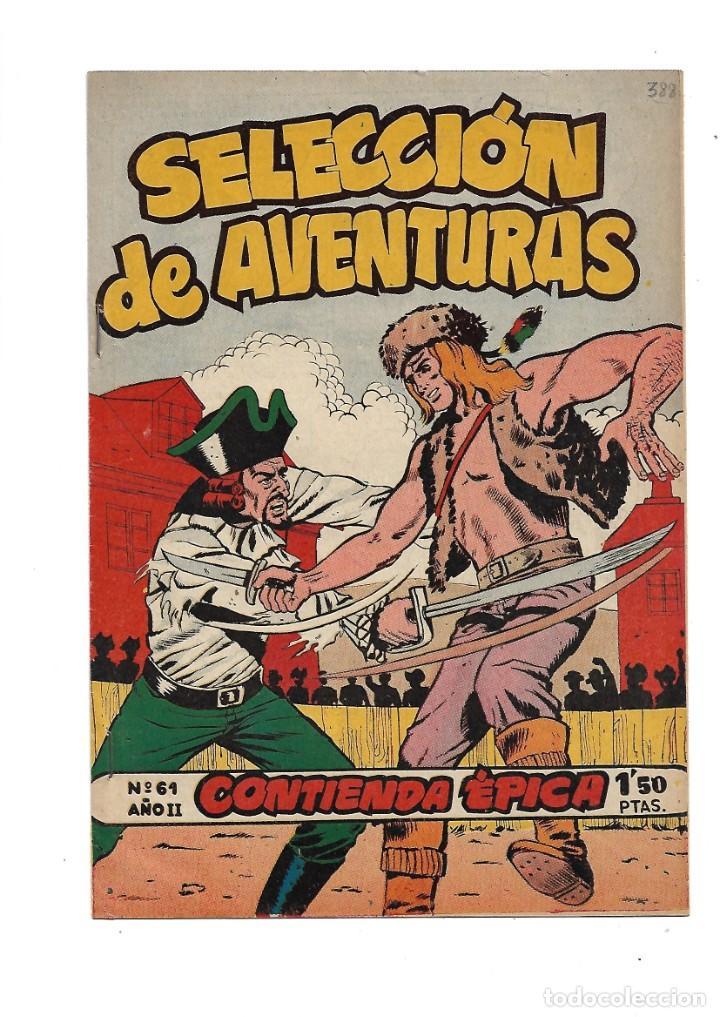 Tebeos: Selección de Aventuras 2ª Epoca Blek el Gigante 1ª Colección Completa son 42 Tebeos Originales - Foto 3 - 183445303