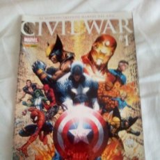 Tebeos: MINISERIE CIVIL WAR + CIVIL WAR: LA INICIATITIVA. Lote 183562805