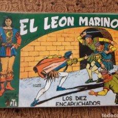 Tebeos: TEBEOS-CÓMICS CANDY - EL LEÓN MARINO COMPLETA- TINOCO - GIGARPE - AA98. Lote 183581591