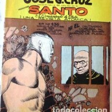 Tebeos: VINTA GE CÓMIC DE SANTO EL ENMASCARADO DE PLATA NO 436 AÑOS 50S. Lote 183750451