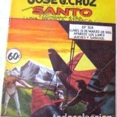 Tebeos: VINTA GE CÓMIC DE SANTO EL ENMASCARADO DE PLATA NO 503 AÑOS 50S. Lote 183750506