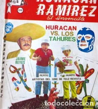 VINTA GE CÓMIC DE HURACÁN RAMIREZ NO 199 AÑOS 70S (Tebeos y Comics - Tebeos Colecciones y Lotes Avanzados)