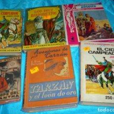 Tebeos: NOVELA Y LIBRO COMIC-LOTE DE 7 EJEMPLARES MUY BUENOS -LEER - VER FOTOS. Lote 183912770