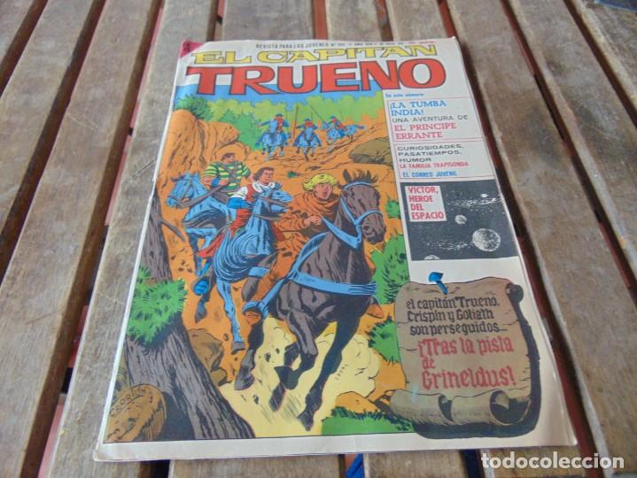 TEBEOS COMICS EL CAPITAN TRUENO 391 REVISTA PARA JOVENES BUEN ESTADO (Tebeos y Comics - Tebeos Pequeños Lotes de Conjunto)