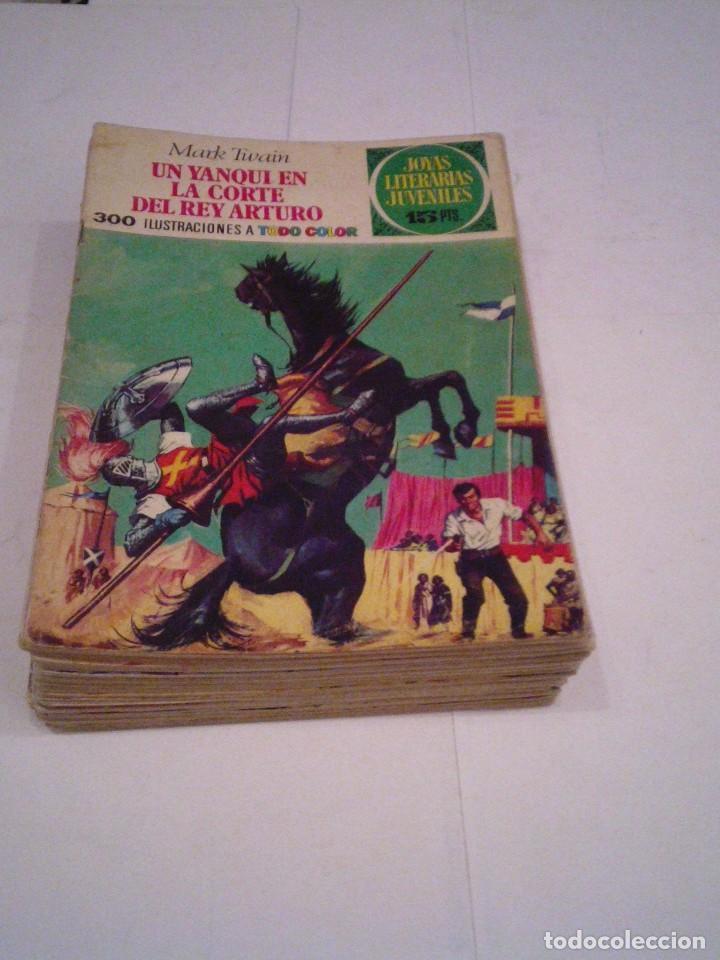 LOTE 25 + 4 - JOYAS LITERARIAS JUVENILES - EDITORIAL BRUGUERA - GORBAUD (Tebeos y Comics - Tebeos Colecciones y Lotes Avanzados)