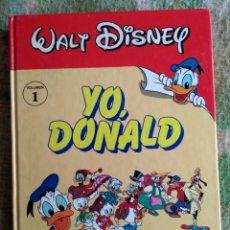 BDs: YO DONALD COLECCIÓN COMPLETA 10 TOMOS RUEDA MONTENA WALT DISNEY. Lote 186050761