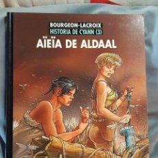 Livros de Banda Desenhada: HISTORIA DE CYANN 1,3 Y 4.. Lote 186335065