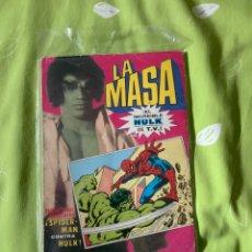 Tebeos: LA MASA DE TV VS SPIDERMAN BRUGUERA. Lote 187304821