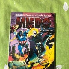 Tebeos: MIEDO- MOTORISTA FANTASMA-CAPITAN AMERICA. Lote 187310785
