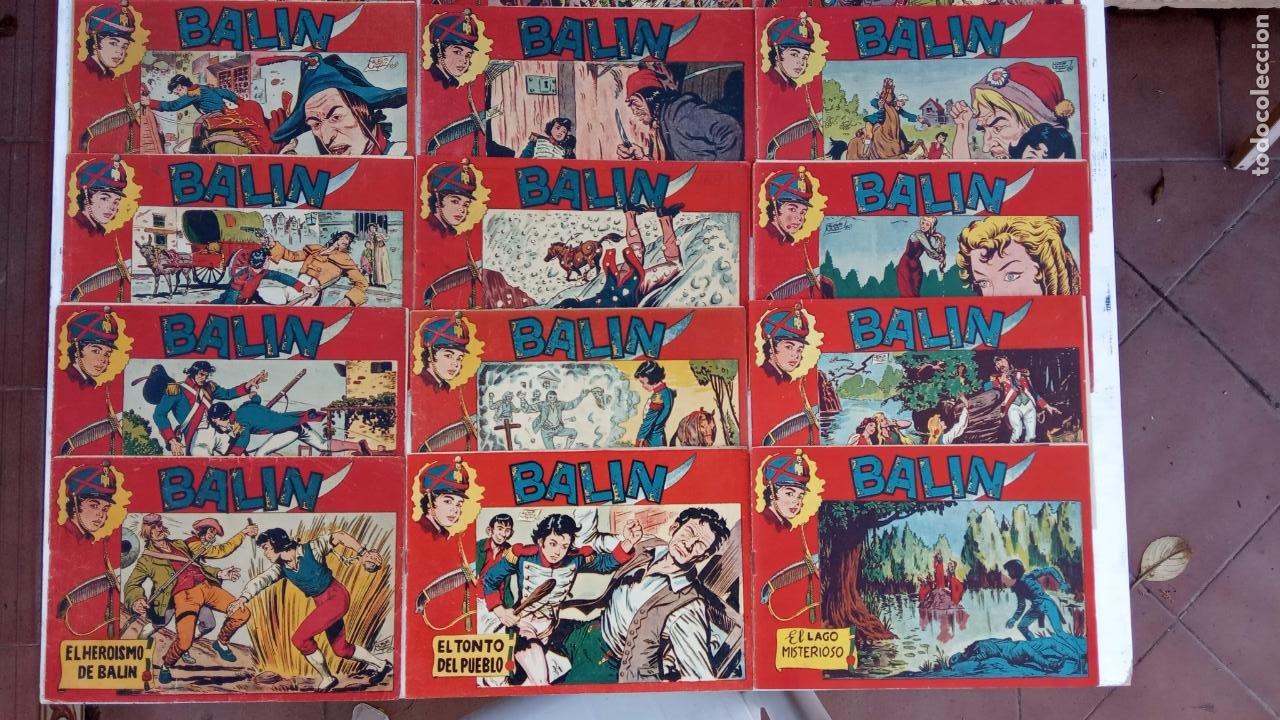Tebeos: BALÍN ORIGINAL COMPLETA 1 AL 30 - 1955 EDI. MAGA - JOSÉ ORTÍZ DIBUJOS - MUY BIEN CONSERVADA - Foto 4 - 187465313