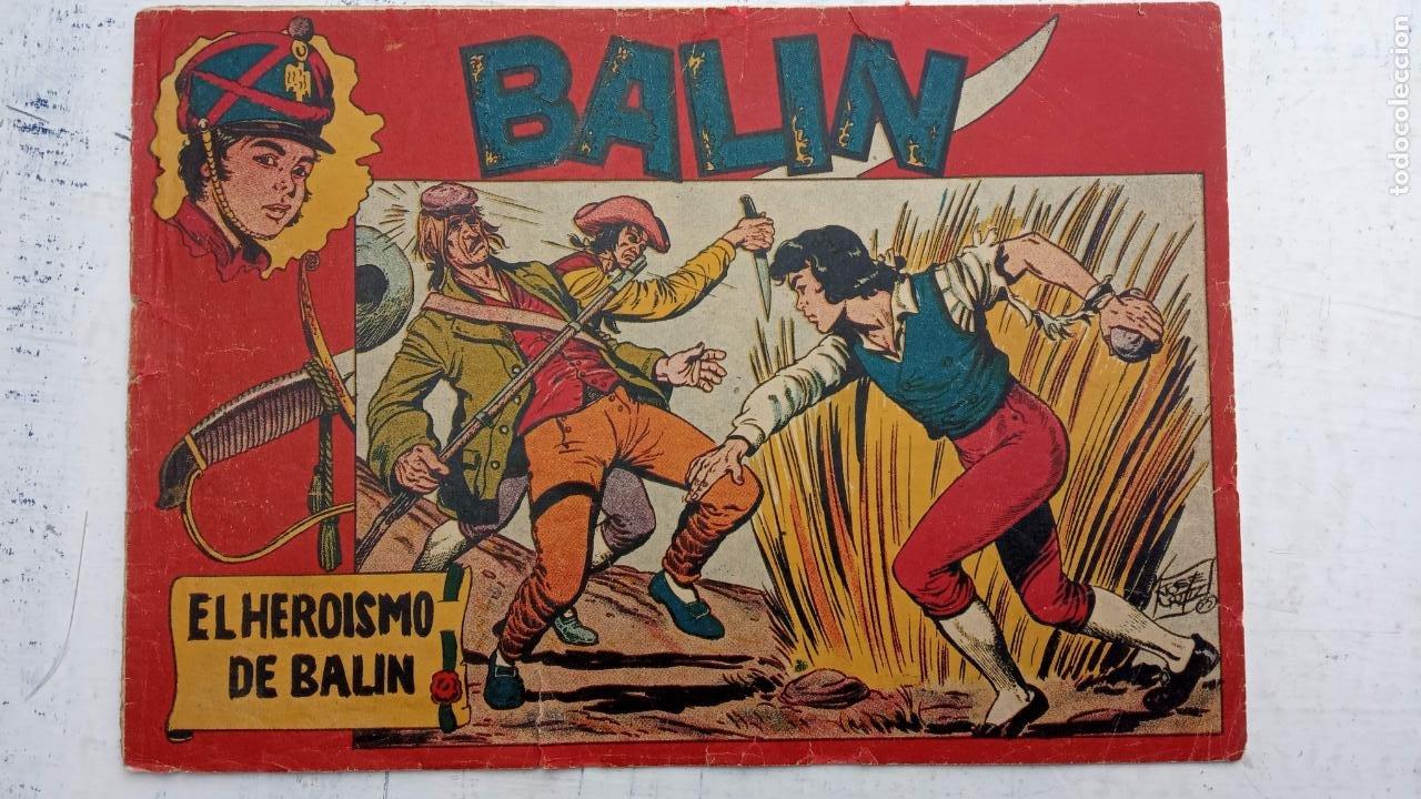 Tebeos: BALÍN ORIGINAL COMPLETA 1 AL 30 - 1955 EDI. MAGA - JOSÉ ORTÍZ DIBUJOS - MUY BIEN CONSERVADA - Foto 5 - 187465313