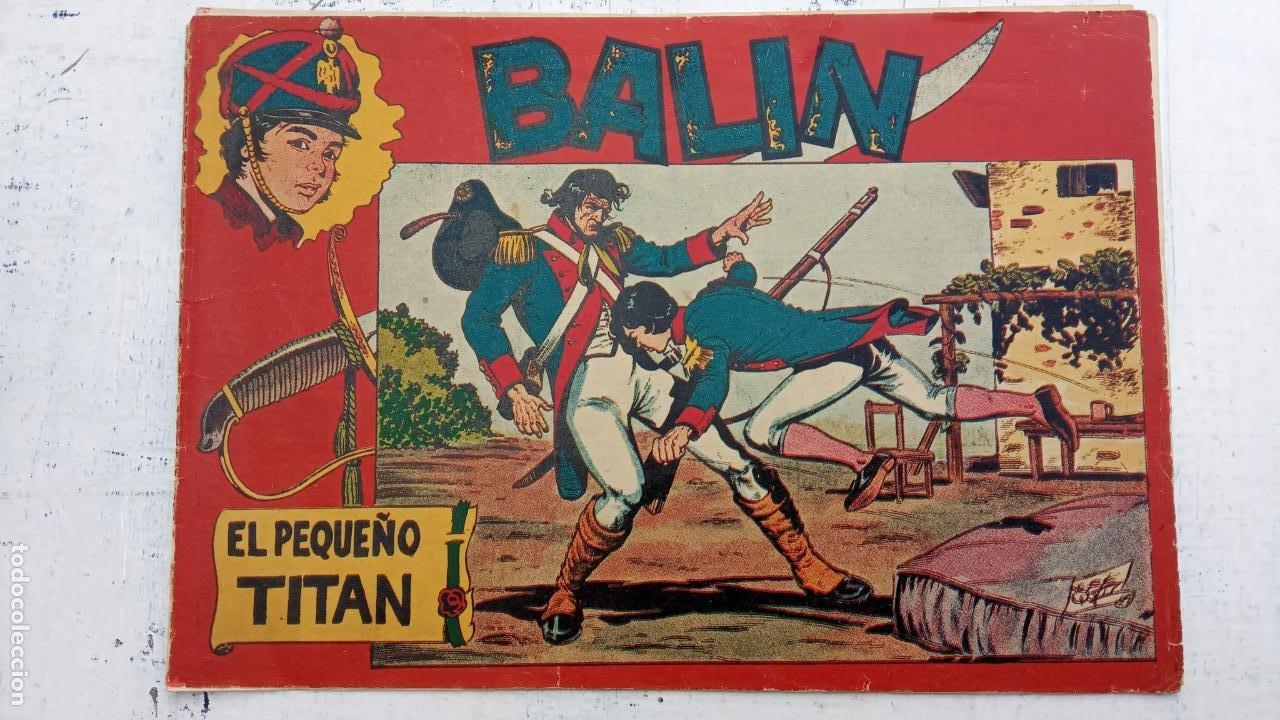 Tebeos: BALÍN ORIGINAL COMPLETA 1 AL 30 - 1955 EDI. MAGA - JOSÉ ORTÍZ DIBUJOS - MUY BIEN CONSERVADA - Foto 6 - 187465313